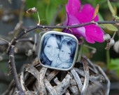 Personalized adjustable photo ring