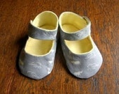 PATTERN Baby Shoes Sewing PDF Digital Maryjane Shoes