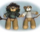 Lenny and Leona Crochet PATTERN (PDF)