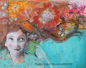 Hope and Desires-ACEO  Open edition reproduction by Maria Pace-Wynters