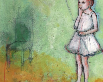 Drifitng In And Out -ACEO  Open edition reproduction by Maria Pace-Wynters