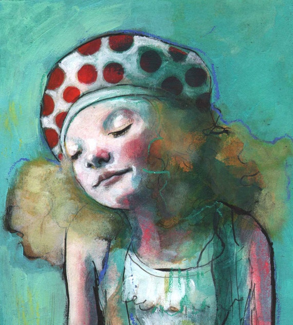 A Moment - Original painting by Maria Pace-Wynters