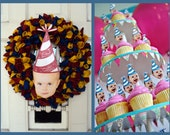 2 Custom Party Hat Files - Large and Small
