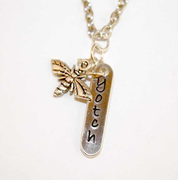 Bee Yotch Sterling Silver Necklace