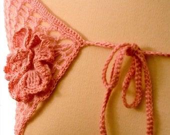 Crochet Pattern--Flower Capelet