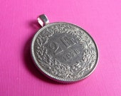 Coin Pendant-Two Francs