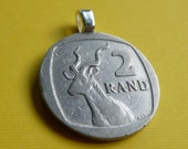 Coin Pendant-South African Rand