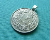 Coin Pendant-One Franc