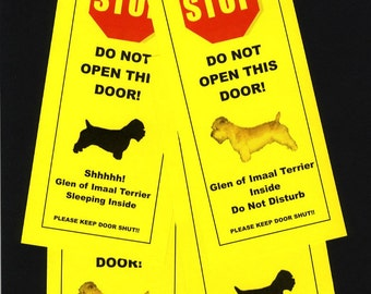 Glen of Imaal's Terrier Friendly Alternative to Beware of Dog Signs Keeps Dog Safe