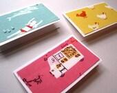 Heath Ross, Munki Munki tiny greeting cards