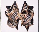 Plaid Boutique Girls Hair Bow - New Bow - LAST ONE