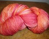 Peony - handpainted sock yarn