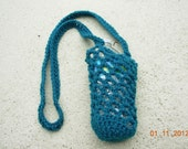 Water Bottle Holder/Carrier-Crochet-Hiker Biker Runner Walker