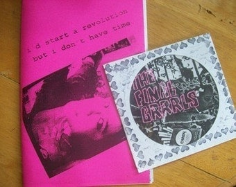 The Final Grrrls cd and Riot Grrrl split zine