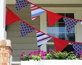 Fabric Bunting - Patriotic