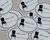 SALE Have A Seat Tags