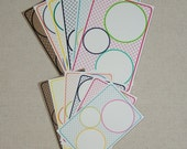 SALE Circle Journal Blocks