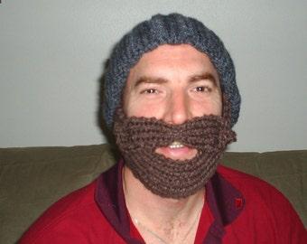 Bearded Lumberjack Hat - CUSTOM Colors - Made to Order