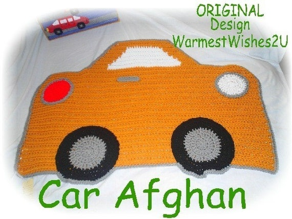 Boutique Crochet BABY Car Afghan/Blanket CUSTOM COLOR