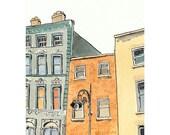 A Dublin Lamp Post - 4 x 6