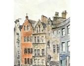 Victoria Street, Edinburgh - 5 x 7