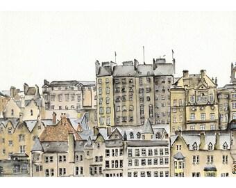 Edinburgh Windows - 7 x 10