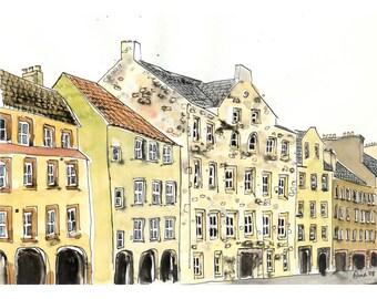 Edinburgh Arches - 6 x 8