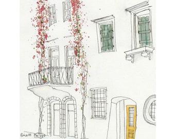 Flowers in Greece - 4 x 6