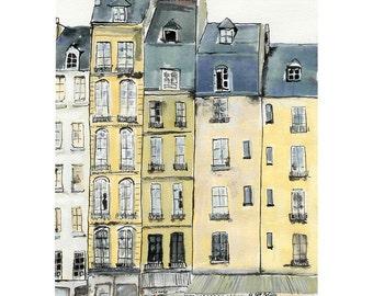 A Bit of Paris - 7 x 10