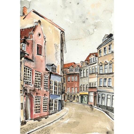 Riga in February - 4 x 6