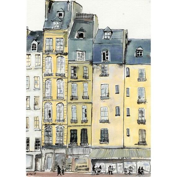 A Bit of Paris - 4 x 6