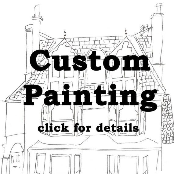 Custom Painting - 8 x 10
