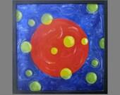 Original Art for Sale, Metal Artwork, Fine Art, Abstract, Metal Painting, Modern, Contemporary, Surreal, Karina Keri-Matuszak