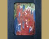 Copper Art for Sale, Miniature, Original, Painting, Tabletop, Metal, Karina Keri-Matuszak