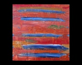 Was 275 Now 175, Original Art For Sale, Metal Artwork,Fine Art, Abstract, Copper, Painting, Modern, Contemporary, Minimal