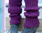 Simple Legwarmers Knitting PATTERN