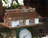 Straw Bale House Scale Model Kit,  Build Your Straw Bale House Today