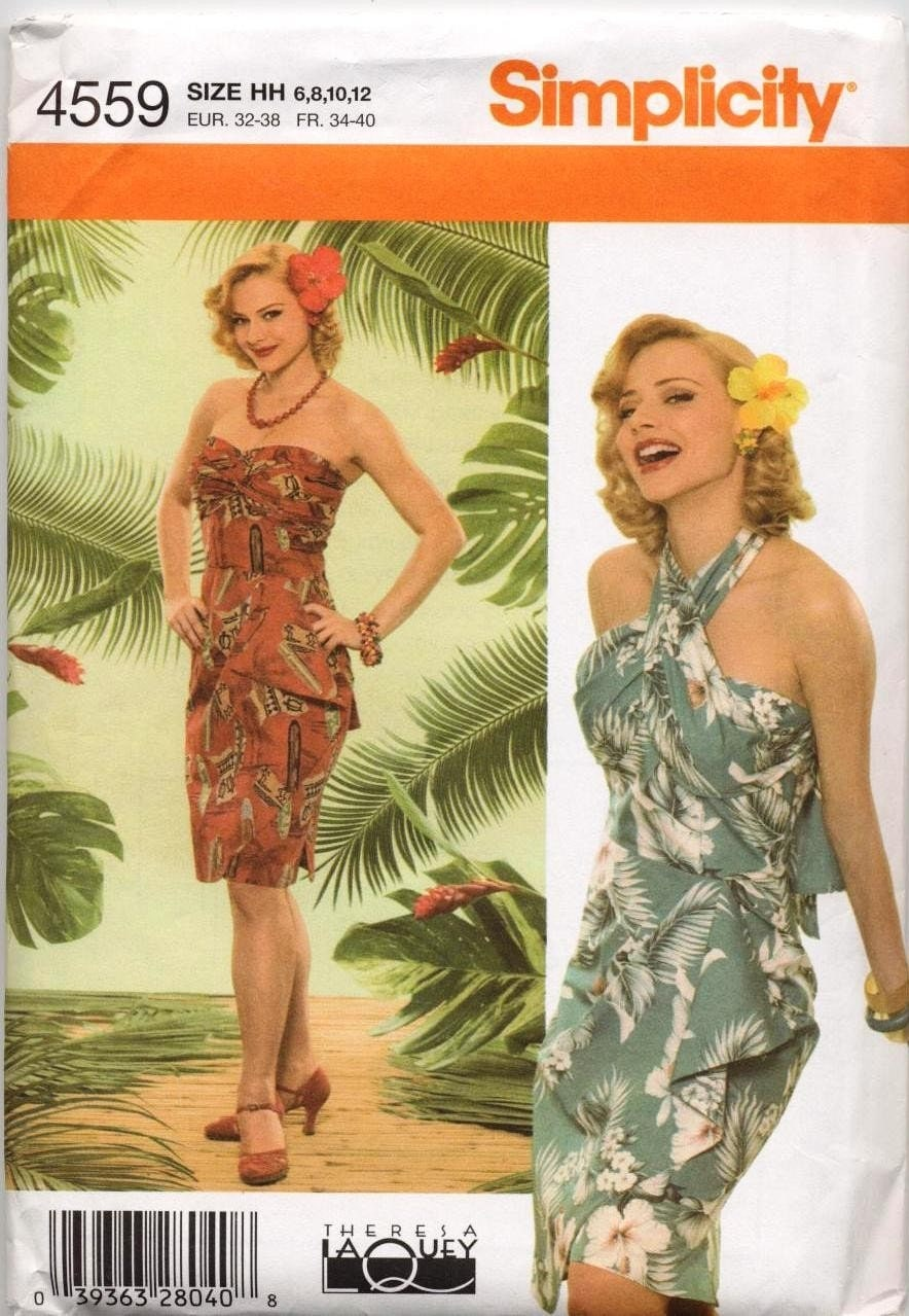 hawaiian wrap dress instructions
