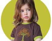 Tree Organic Tshirt unisex brown