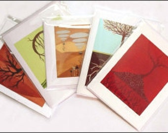 5 note cards - you choose the images