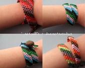 Custom Friendship Ribbon Bracelet  - 1 bracelet