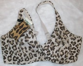 Animal Print Bra Pocket
