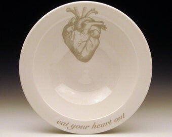 eat your heart out cereal bowl in GHOSTIE GREY