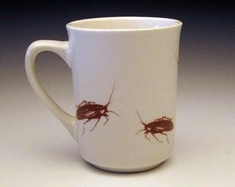 creepy crawly cockroach classic mug