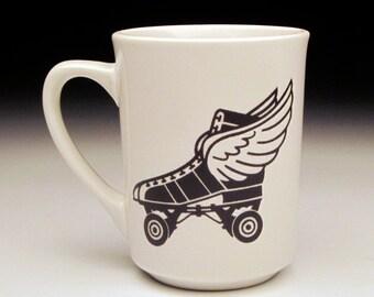 Retro Roller Skate Classic Mug