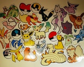 Pokemon Sticker Project (Batch 1) - The Complete Set [26 Stickers]