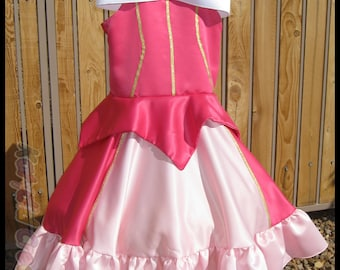Custom Princess Dress Costume - Satin Collection