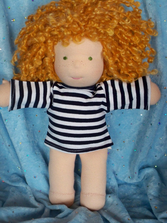 """Waldorf doll T-shirt for a 10"""" doll"""