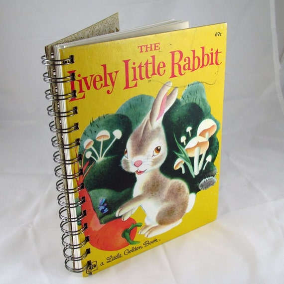 The Lively Little Rabbit, LGB, DJ, 5th Printing, 1943, Golden Book