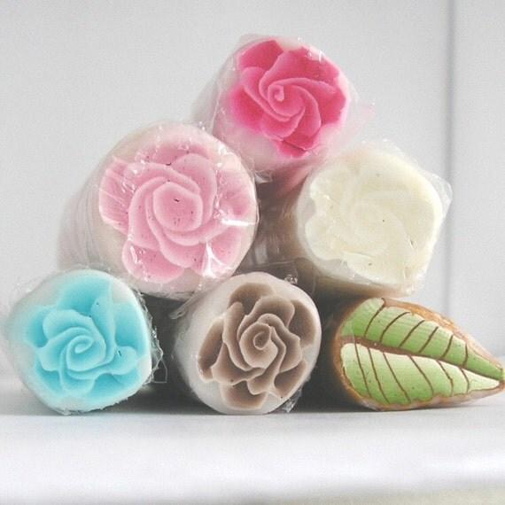 Claychicks Sampler of Polymer Clay Rose Canes E72